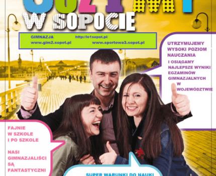 Uczymy w Sopocie ! Dlaczego warto uczyć się w sopockim gimnazjum