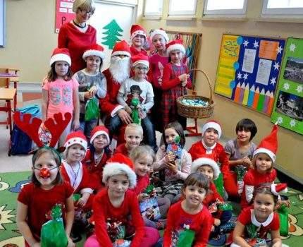 Święty Mikołaj w naszej szkole…