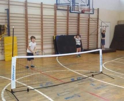 Zajęcia tenisowe w klasie II