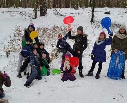 Ferie zimowe w naszej szkole…