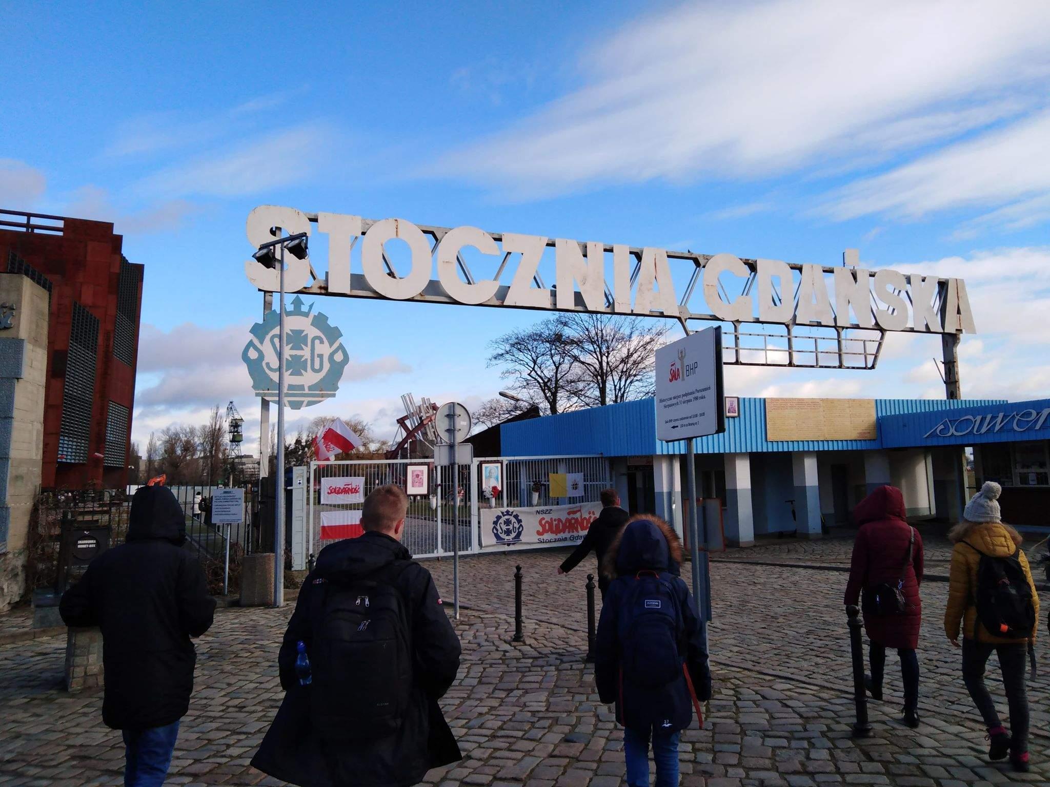 Wizyta studyjna w Stoczni Gdańskiej