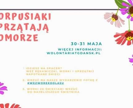 """II edycja akcji """"Korpusiaki sprzątają Pomorze"""""""