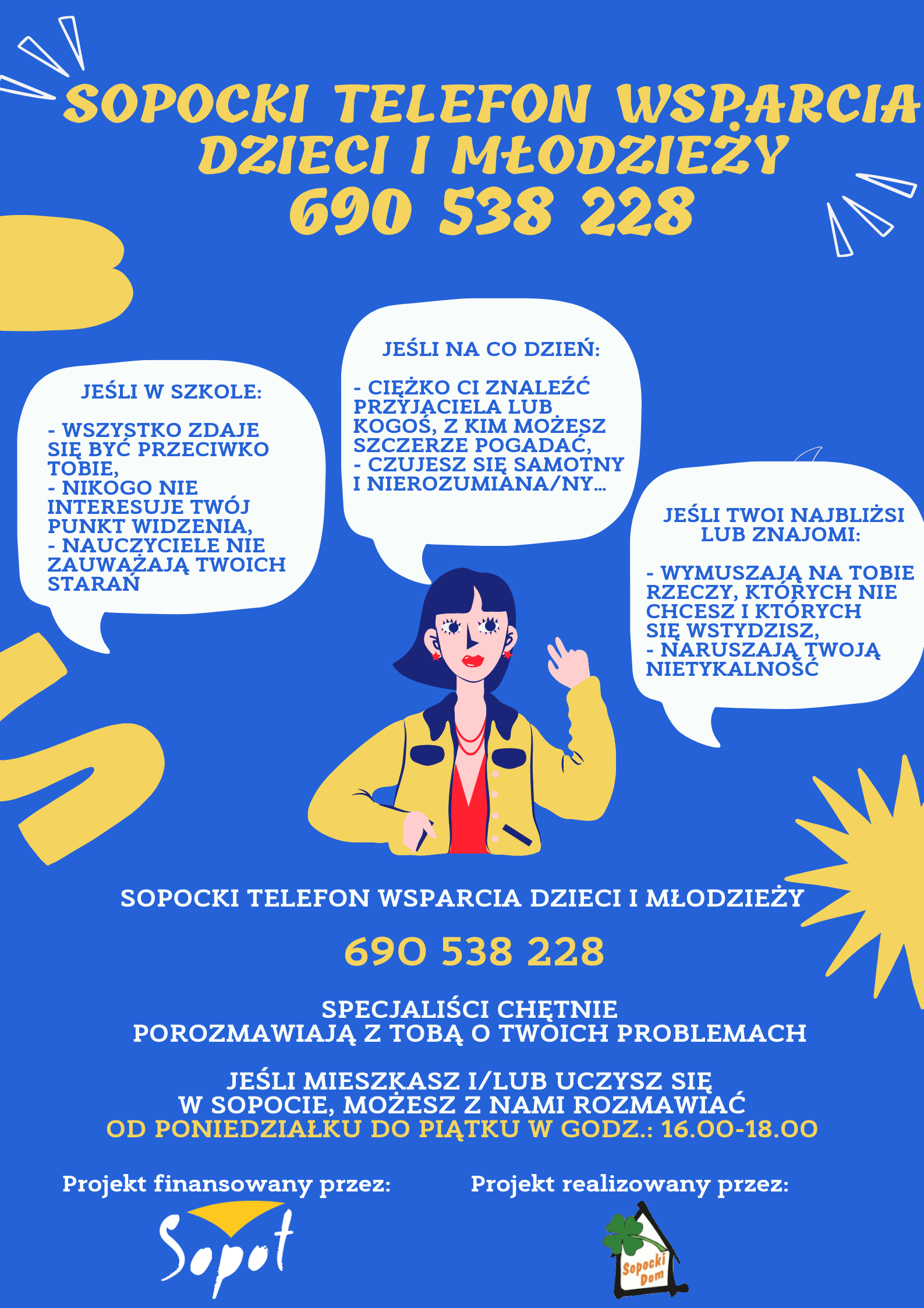 Sopocki Telefon Wsparcia Dzieci i Młodzieży