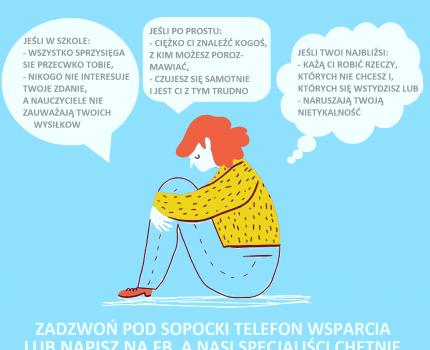 Sopocki telefon wsparcia dla dzieci i młodzieży