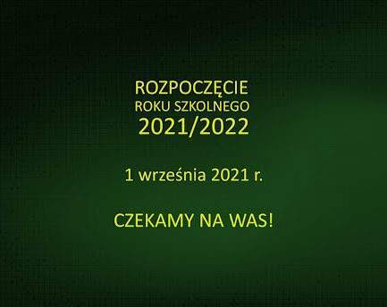 Inauguracja roku szkolnego 2021/2022 w SP1 w Sopocie